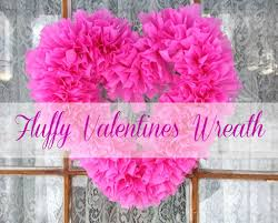 valentines wreaths easy and inexpensive fluffy valentines day wreath frugal upstate