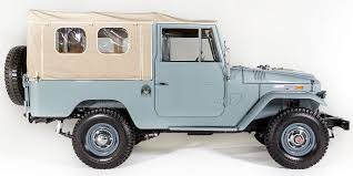 classic land cruiser for sale history of the toyota fj series u2013 the fj company blog