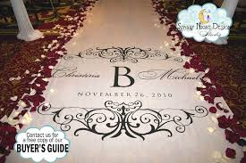 personalized aisle runner aisle runner wedding aisle runner custom aisle runner