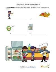 food safety test your knowledge worksheet for kids