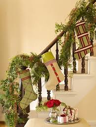Christmas Railing Decorations Beautiful Christmas Decorating For Stair Design