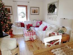 blekinge white ikea sectional sofa with red accents for christmas