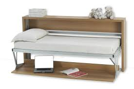 italian wall bed desk horizontal murphysofa smart furniture