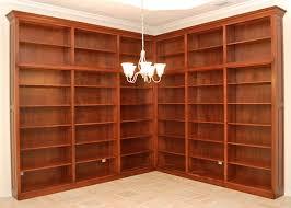 Corner Wall Bookcase Custom Corner Wall Bookcase Unit Haus Custom Furniture