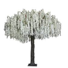 online buy 10ft artificial white wisteria flower tree dongyi
