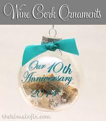 souvenir wine cork ornaments remembering times the six fix