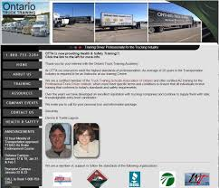 kitchener web design congrats on your new site ontario truck training academy web