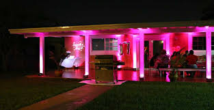 Outdoor Led Up Lighting Rent Wireless Uplights With Free Shipping Nationwide For Weddings
