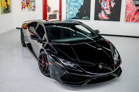lamborghini huracan lamborghini huracan coupe black miami exotics car rentals
