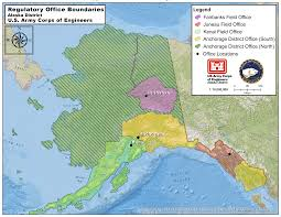 A Map Of Alaska by Alaska District U003e Missions U003e Regulatory U003e Regulatory Contacts