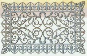 Cast Iron Doormat Cast Iron Garden Products Stoneking Sculpture Factory Page 1