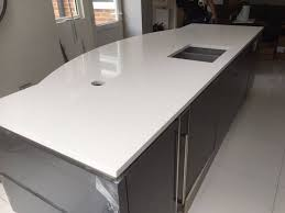 kitchen island worktops bianco de lusso urban quartz u0026 island rock and co granite ltd