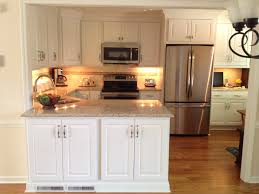 American Kitchen Cabinets Aspect Cabinetry White Thermafoil Raised Panel Doors And American
