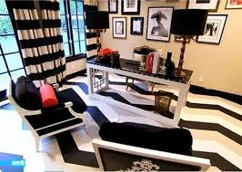 Black White Stripe Curtain Living Room Black And White Ticking Stripe Curtains Striped