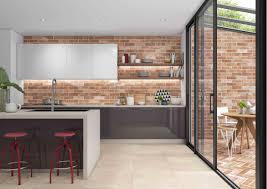 Brick Tile Kitchen Backsplash Jeffrey Court U2013 Showroom U0026 Designer Collectionspecialty Brick