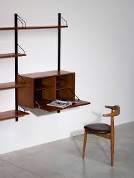 Home Office Desk Collections Modular Wall Desk System Cado Royal Shelving Danish Teak Unit In