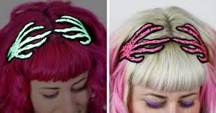 halloween hair accessories by janine basil are spook tacularly