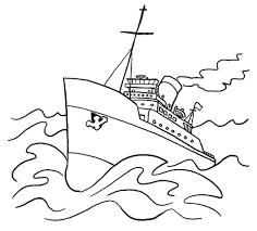 big ship storm coloring transportation 25 free