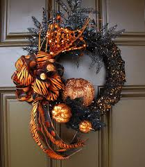 halloween wreaths u2013 25 ideas for your holiday decoration