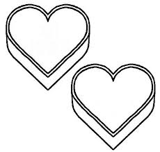 free printable coloring pages for kids bells flowers love hearts