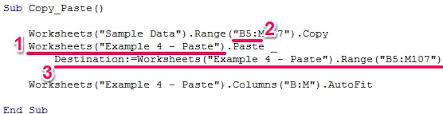 excel vba copy paste the complete tutorial and 8 examples