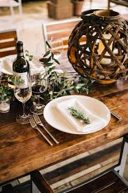Thanksgiving Table Setting by How To Set A Wine Country Inspired Thanksgiving Table The Taste Sf
