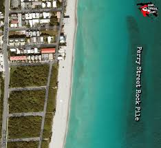 Dania Beach Florida Map by Perry Street Rock Pile Perry St Rocks Hollywood Fl