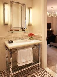 Console Sinks For Small Bathrooms - art deco pink bathroom design ideas u0026 pictures zillow digs zillow