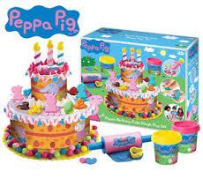 peppa pig birthday cakes peppa pig birthday cake dough play doh activity set creative