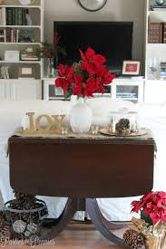 living room sofa table christmas decorating ideas awesome design