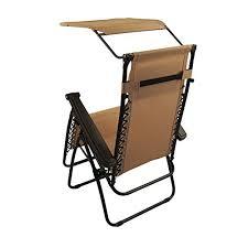 Zero Gravity Lounge Chair With Sunshade Sundale Outdoor Zero Gravity Chair With Canopy Tan Our Rating