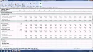 Business Financial Statement Template Excel by Tutorial The Financials Sheet Balance Sheet And Profit U0026 Loss