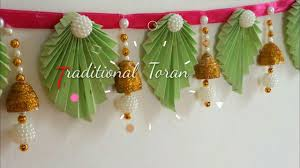 diy trendy toran door hangings with paper at home diwali
