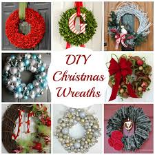 Homemade Christmas Wreaths by Decorating Cents Diy Christmas Wreaths