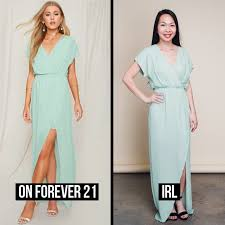 here u0027s what forever 21 u0027s new bridesmaid dresses look like irl