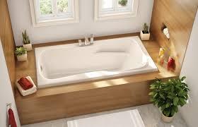 American Standard Cambridge Bathtub Bathroom Cozy White Bathroom Tub Design In Laminated Wooden Case