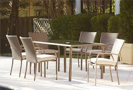 Patio Dining Set by Amazon Com Cosco Outdoor 7 Piece Lakewood Ranch Steel Woven