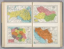 Yugoslavia Map Finland Poland Austria Czechoslovakia And Hungary Yugoslavia
