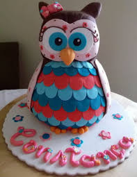 3d cake owl 3d cake cookies and cupcakes cake by gulodoces cakesdecor