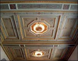 ponca city information tours marland mansion side tour ceilings