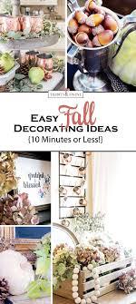easy fall decorating ideas tidbits twine