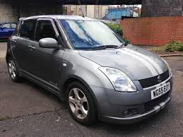 2005 suzuki swift diesel hatchback grey manual cat c in