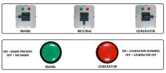 manual changeover switch for generator circuit diagram circuit