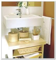 ikea under sink storage under pedestal sink cabinet pedestal sink bathroom house