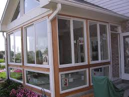 Covered Porch Design Converting A Screened Porch Into A 4 Season Room Is An Easy Way To