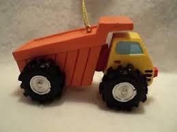 ksa resin dump truck ornament new ebay