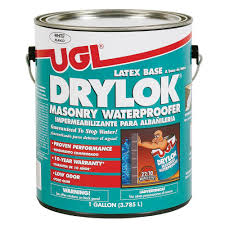 How To Remove Water Stains From Painted Walls Drylok 1 Gal White Masonry Waterproofer 27513 The Home Depot
