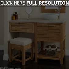 Makeup Vanity Bathroom Bathroom Sink Vanity With Makeup Area Home Vanity Decoration