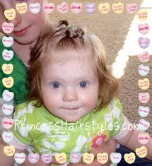 baby heart hairstyle hairstyles for girls princess hairstyles
