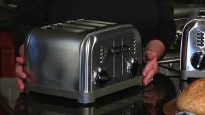 Cuisinart Toasters Cuisinart Stainless Steel Classic Toasters Youtube